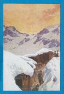 Italien   Poste D'Obeservation En Montagne   Tranché Et Abris - Guerre 1914-18