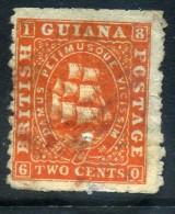 GUYANE BRITANNIQUE  YVERT N° 23 Oblitere - Guyane Britannique (...-1966)