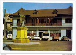 Cayenne Banque De Guyane Erreur Oblitération Bloc Dateur - Cayenne