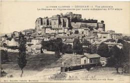Grignan - Vue Générale-Le Château Et L'église - Grignan