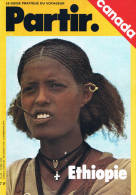 Partir - N°28 - Avril 1976 - Seychelles Canada Ethiopie - Aardrijkskunde