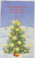 Christmas-Greeting Card-unused,perfect Shape - Noël