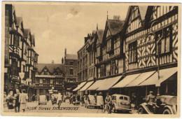 Cartolina - Shrewsbury, High Street - 1947 - Viaggiata Da Shrewsbury Per London - Shropshire