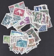 Années Complètes 1967 - 1968  Et 1969 - 113 Timbres Oblitérés - Cote : 53 € - France
