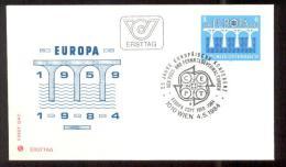 1984 AUSTRIA EUROPA CEPT FDC - FDC