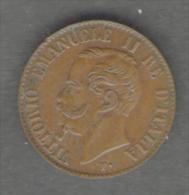 REGNO D' ITALIA - 1 CENTESIMO - VITTORIO EMANUELE II (1867 - ZECCA: MILANO) - ITALIAN KINGDOM - - 1861-1946 : Regno
