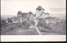 CPA - (Allemagne) Das Bergische Land - Schloss Burg - Solingen