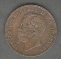 REGNO D´ ITALIA - 10 CENTESIMI - VITTORIO EMANUELE II (1863 - ZECCA: PARIGI) - ITALIAN KINGDOM - - 1861-1946 : Regno