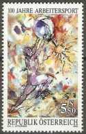 Austria - 1992 Worker's Sports 5.50s MNH **          Sc 1559 - 1945-.... 2nd Republic