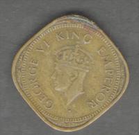 INDIA 2 ANNAS 1945 GEORGE VI - India
