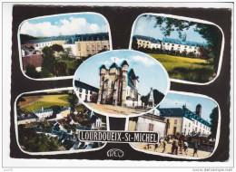LOURDOUEIX SAINT MICHEL  -  5 Vues  :  Collège  -  N° 2220 - France