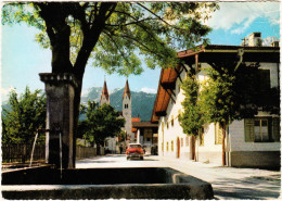Telfs: SIMCA ARONDE 1300 ('57)  - Pfarrkirche Gegen Mieminger Kette,  Tirol  - Austria/Österreich - Voitures De Tourisme