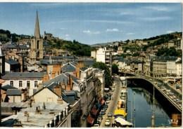 19----TULLE---vue Générale,les Quais Et La Cathédrale Saint-martin--voir 2 Scans - Tulle
