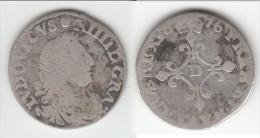 """**** LOUIS XIV - LOUIS XIIII - 4 SOLS 1676 D Dits """"des Traitants"""" - ARGENT - SILVER **** EN ACHAT IMMEDIAT - 987-1789 Monnaies Royales"""