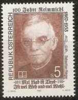 Austria - 1992 Sebastien Rieger (1867-1953) 5s MNH **          Sc 1573 - 1945-.... 2nd Republic