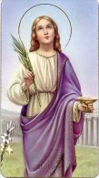 Santino SANTA LUCIA (FB 400 - 198) - PERFETTO H28 - Religione & Esoterismo