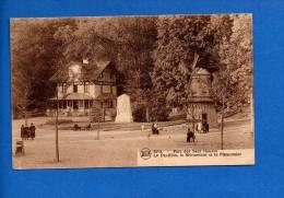1938 - SPA .... Parc Des 7 Heures ... Le Pavillon, Le Monument Et Le Pigeonnier ... Cachet, Timbre...     Recto-verso) - Spa