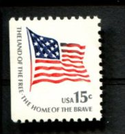 287503695 USA POSTFRIS MINT NEVER HINGED POSTFRISCH EINWANDFREI SCOTT 1598 Flag Links Ongeand - Unused Stamps