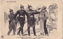 Carte Militaire Satirique Guerre 1914-1918. - Humoristiques