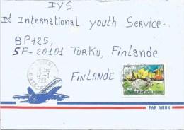 Cote D´Ivoire Ivory Coast 2001 Guitry Olympic Games Sydney Kangaroo Cover - Zomer 2000: Sydney
