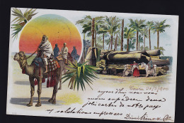 EGYPTE 1900 TOP CARTE - Egypte