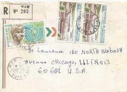 Cote D´Ivoire Ivory Coast 1978 Man International Woman Year Sassandra Wharf Registered Cover - Ivoorkust (1960-...)