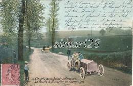 CIRCUIT DE LA SEINE-INFERIEURE - N° 28 - LA ROUTE DE DT-MARTIN EN CAMPAGNE (VOITURE DE COURSES) - France
