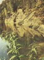 SIGULDA ROCKS OF THE DEVIL'S CAVE - Lettonia