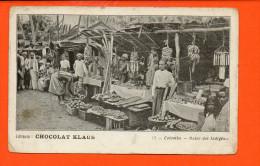 COLOMBO - Bazar Des Indigènes - Chocolat KLAUS (publicité) - Sri Lanka (Ceylon)