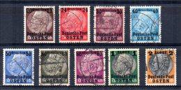 "Germany - 1939 - Occupation Of Poland Hindenberg Overprinted ""Osten"" - Used - Besetzungen 1938-45"