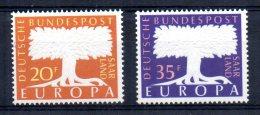 Saar - 1957 - Europa - MH - 1957-59 Fédération