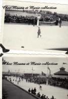 LOT DE 2 PHOTOS 1932 8.5 X 6 TOUR DE FRANCE CYCLISME ARRIVEE MALO LES BAINS 23EME ETAPE REBRY 2468 - Ciclismo