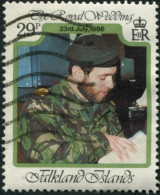 Pays : 180 (Falkland : Colonie Britannique)  Yvert Et Tellier N° :   471 (o) - Falkland Islands