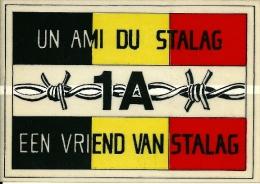 Autocollant (13,5 X 9,5cm) - Un Ami Du Stalag 1A - Een Vriend Van Stalag - 1939-45