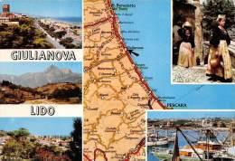 B84535 Giulianova Lido Map Cartes Geographiques   Italy - Teramo