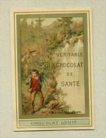 Chromo - Chocolat-Louit - Véritable Chocolat De Santé - Le Contrebandier - Louit