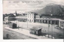 GRENOBLE 157 PLACE DE LA GARE ET LA MOUCHEROTTE (1906 M) - Grenoble