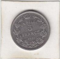 UN Belga 5 Francs 1931 FR Pos B - 1909-1934: Albert I