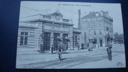KOEKELBERG : la gare  en 1919
