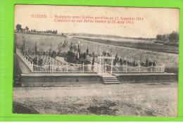 Halen.-Rustplaats Onzer Helden Gevallen Op 12 Augustus 1914 - Halen