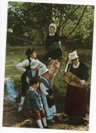 """GENCAY-Folklore Du Haut-Poitou """"LA MARCHOISE""""-Groupe D´enfants (vielle,costumes,coiffes),cpsm 15 X 10 éd Combier - Gencay"""