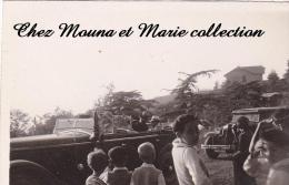 PHOTO 1932 8.5 X 6 ALGERIE CHREA JULES CARDE GOUVERNEUR GENERAL DE L AOF EN VOITURE 2470 - Afrique