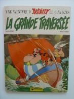 """Astérix, La Grande Traversée, 1ere édition Edition \""""au Menhir\"""" 1975, Etat Moyen - Astérix"""
