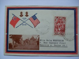 FRANCE 1937 EDWARD VIII AND WALLACE SIMPSON WEDDING DAY COVER - Francia