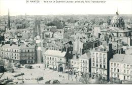 N°41148 -cpa Nantes -vue Sur Le Quartier Launay Prise Du Pont Transbordeur- - Nantes