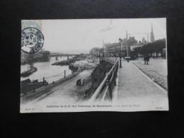 (76) CPA : Collection De La Cie Des Tramways De Bonsecours - Le Quai De Paris - Bonsecours