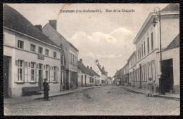 BERCHEM ( Lez Audenarde ) - RUE DE LA CHAPELLE - 1909 - ZICHT ESTAMINET CAMIEL DE BAERE - Oudenaarde