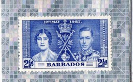 BARBADOS  --   INSULAIRE DES ANTILLES  --  12 MAI 1937  --  **  2.1/2 D  **  --  NEUF - West Indies