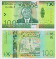 Samoa 100 Tala 2008 Pick 42 UNC - Samoa