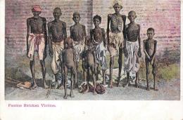 Inde India - Famine Striken Victims - La Faim - Trés Bon état - 2 SCANS - India